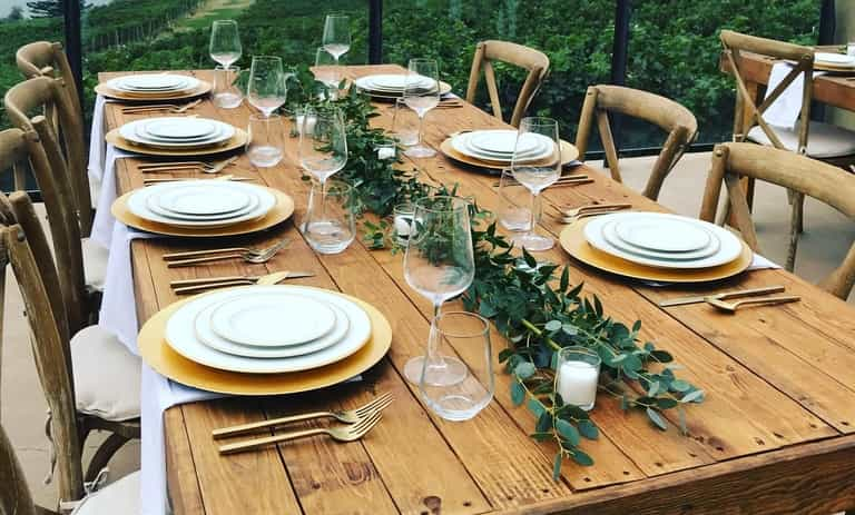 Harvest Decor Tables & Chairs